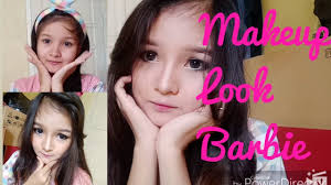 tutorial makeup look barbie sehari hari simple
