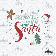 Santa Watermark Cookies For Santa Svg And Santa Vector