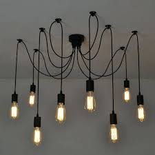 49 most hunky dory lixada armseach with wire antique classic ajule diy ceiling spider lamp