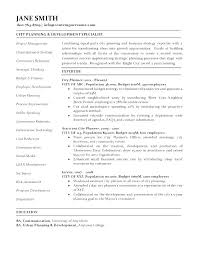 Urban Planner Cover Letter Urban Planning Cover Letter Urban Planner ...