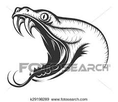 snake head drawings in pencil. Perfect Drawings Clip Art Snake Head Fotosearch Search Clipart Illustration Posters Drawings  S59 Throughout Snake Head Drawings In Pencil 3