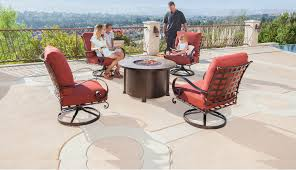 O W Lee Luxurious Outdoor Casual Furniture & Fire Pits