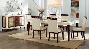 Sofia Vergara Savona Ivory 5 Pc Rectangle Dining Room - Dining Room Sets  Dark Wood