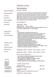 Retail Merchandiser Resume Sample Marvellous Design Example Visual
