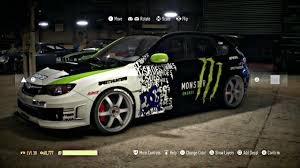 Need For Speed Customization Monster Impreza Dc Ken Block