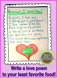 best a story writing recipe for kids images a food inspired poetry writing prompt from the using my teacher voice blog