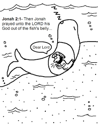 Small Picture Jonah And The Whale Coloring Pages With Page itgodme