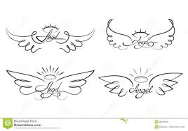 L Ange S Envole L Illustration De Vecteur De Dessin Ic Nes