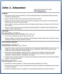 Laboratory Technician Resume Example