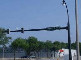 Traffic Light Pole Custom Highway Traffic And Signal Poles Dot Made In Usa