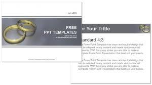 Wedding Powerpoint Template New Wedding RingRecreation PowerPoint Templates
