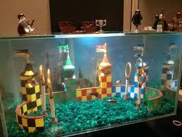 Fun Fish Tank Decorations Quidditch Aquarium Decoration Build Album On Imgur