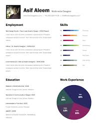 Multimedia Resume Templates CV Multimedia Designer Hire Me Pinterest Design resume and 1