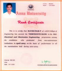 Anna University Rank Certificate – Aalim Muhammed Salegh College Of ...