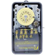 intermatic t100 series 40 amp 208 277 volt dpst 24 hour mechanical intermatic t100 series 40 amp 208 277 volt dpst 24 hour mechanical time switch mechanism t104md89 the home depot