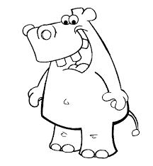 Baby Hippo Coloring Pages Camping Home Improvement Page Sheet Gloria
