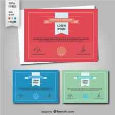 certificate of apreciation template vector  certificate of apreciation template vector
