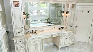 contemporary double vanity with makeup area double vanity with makeup area double sink vanity makeup area