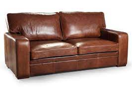 miami 3 seater leather sofabed quality