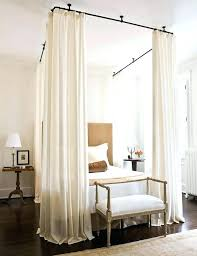 King Canopy Bed Curtains Canopy King Bed Contemporary Canopy Bedroom ...
