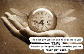 Best Quotes Of All Time Awesome The Best Gift Is Time Inspirational Quotes Timer