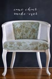 Before & After Maria s Craigslist Cane Chair Makeover