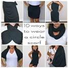 Loop scarf how to wear