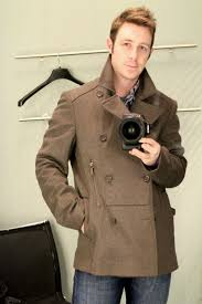 ted baker peacoat has a great look