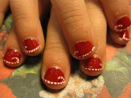 Christmas nail designs Short Nails - BEAUTY SOLS