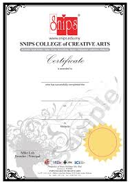 Certificate 2 In Hairdressing Skills Malaysia Invite By