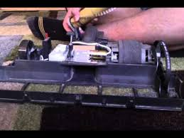 kenmore intuition parts. how to replace the light bulb, belt and brushroll on kenmore canister vacuum. - youtube intuition parts