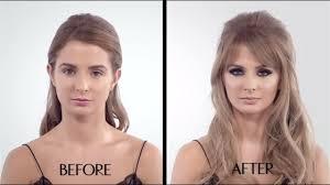 the bardot make up tutorial featuring millie mackintosh 60s cat eye charlotte tilbury