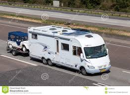 Luxury Mobile Home Frankia Luxury Class Mobile Home With A Trailer Editorial Stock