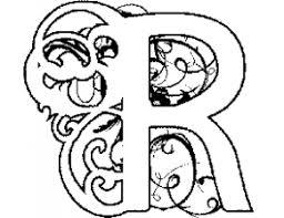 Kids N Fun Kleurplaat Alfabet Diddl Alfabet Diddl R Alphabet R