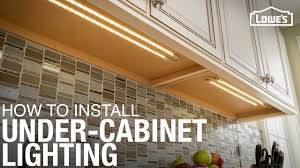 Above Cabinet Lighting Ideas How To Install Under Cabinet Lighting