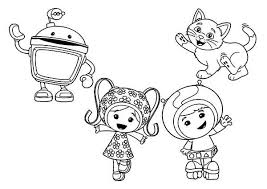 Small Picture How to Draw Team Umizoomi Coloring Page Color Luna