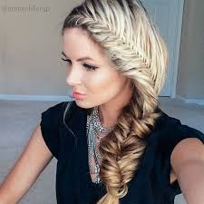 Hairstyles For Girls 31 Awesome 24 Best Braid For Long Hair Fishtail Hairstyles French Fishtail