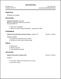 Resume Examples No Work Experience Examples Of Resumes For Jobs With No Experience Gentileforda 14