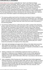 Template: Client Confidentiality Agreement Template Free. Client ...