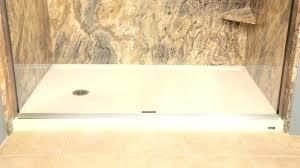 mortar bed shower pan bathroom shower pans popular how to repair a fiberglass tub shower pan