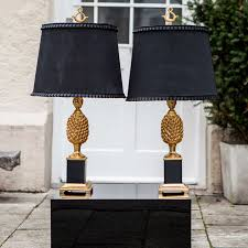 hollywood regency lighting. two pineapple table lamps hollywood regency style 2 lighting o