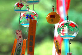 wind chimes chinese vintage style japanese glass chime