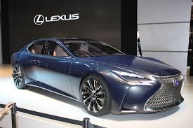 2018 lexus fc. brilliant lexus lexus lffc concept previews next ls fuel cell future live photos u0026 video and 2018 lexus fc