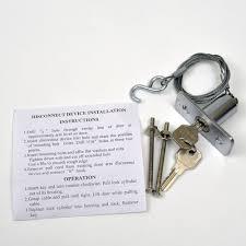 cheap garage door openersBuy Garage Door Opener Keyed Release Disconnect Key Lock  1702LM