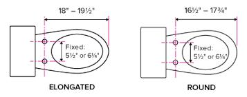 elongated toilet bowl dimensions. lumawarm toilet fit information elongated bowl dimensions