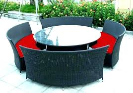 outdoor round dining table outdoor round table circular outdoor table circular outdoor table and chairs round