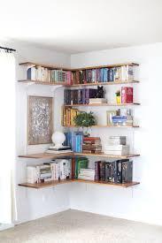 stunning natural brown wooden diy corner desk. 15 Ways To DIY Creative Corner Shelves Stunning Natural Brown Wooden Diy Desk H