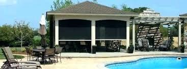patio shade screen. Shade For Patio Outdoor Shades Screen Motorized On Tn