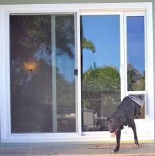Patio Door With Pet Door Built In   Home Design Ideas