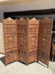 screen room divider shoji india inlay